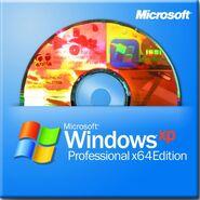 Windows XP Professional x64 Edition disco