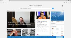 Microsoft Edge (strona startowa)