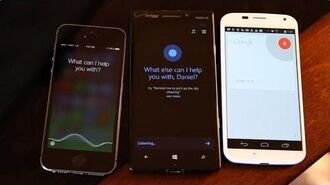 Cortana vs Siri vs Google Now battle