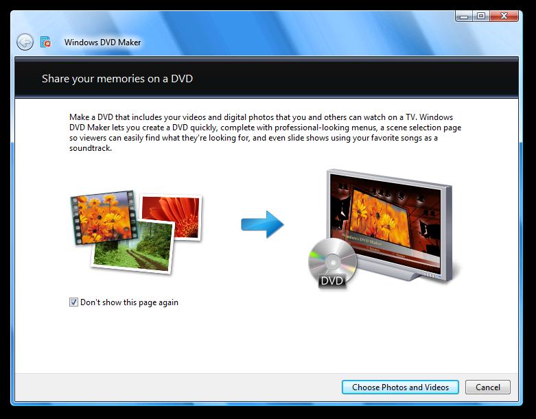 microsoft windows dvd maker download vista