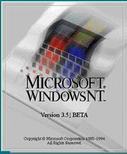 Windows nt 3 51 beta logo (1994-1995)