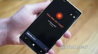 Windows Phone 8.1 Cortana virtual assistant walkthrough