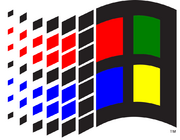 1992-2000 Windows logo
