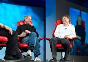 Steve Jobs and Bill Gates (522695099)