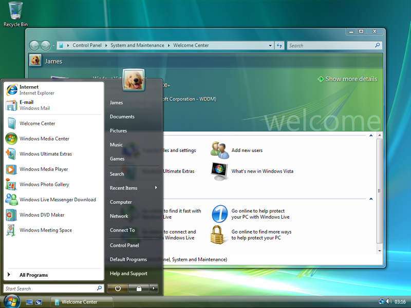 Technical features new to Windows Vista | Microsoft Wiki