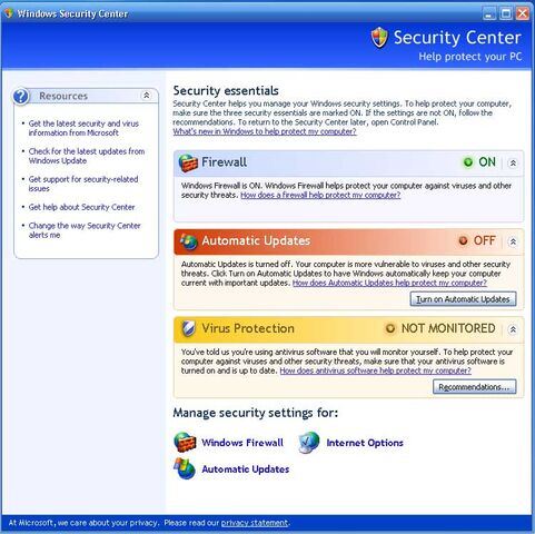 File:XPSP2 SecurityCenter.jpg