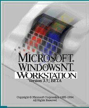 Windows nt 3 51 workstation beta logo (1994-1995)