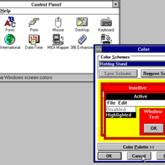 Windows 3.1 Control Panel