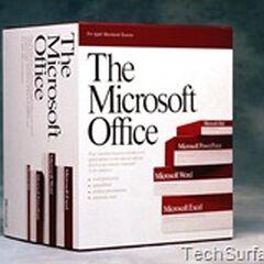 1985-1995 Microsoft Office 1.01-Microsoft Office 3.0