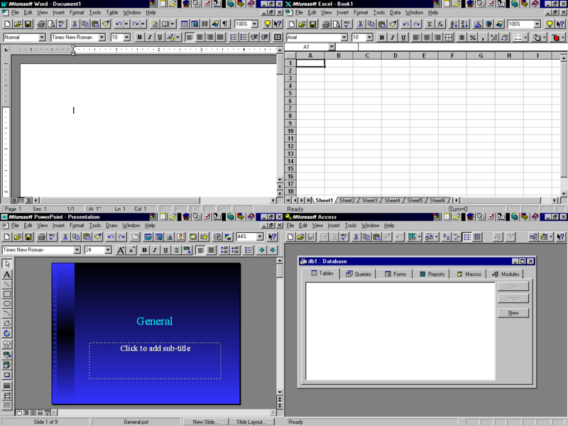 Microsoft Office 95   Microsoft Wiki   FANDOM powered by Wikia