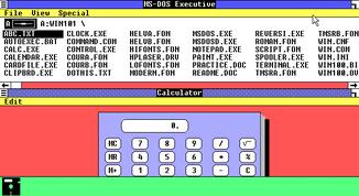 Microsoft Windows 1.01 multitasking