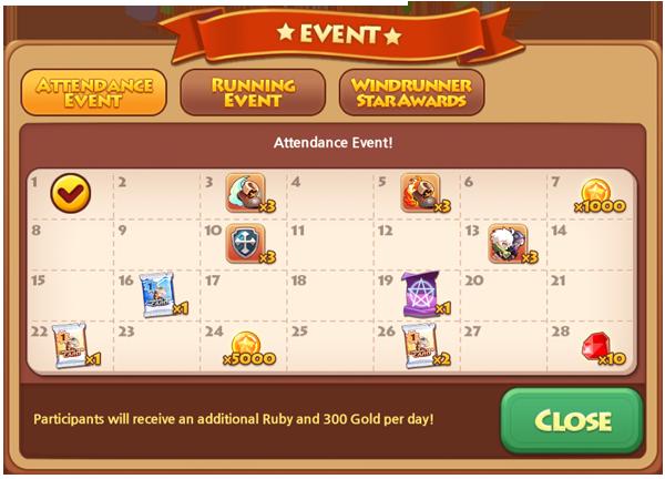 March Attendance 2014