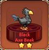 Black Axe Beak