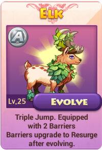 Unevolved Elk