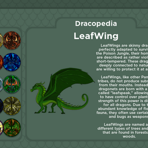 Roblox Wings Of Fire Leafwing