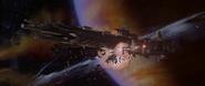 Battleship destroyed