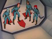Four mutineers