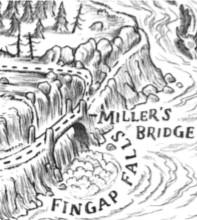 Fingap falls