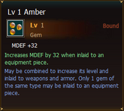 Gems Lv1 Amber