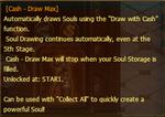 Cash Draw Max Description Box