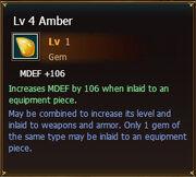 Amber lvl4