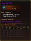 Equipment IronwillSash Knight