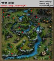 Maps Arbor Valley Demon Envoy Locations
