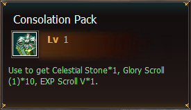 Items Consolation Pack