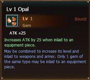 Opal lvl1