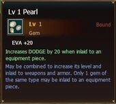 Pearl lvl1
