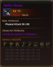 L50 HunterHands SentryGloves