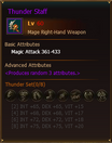 Equipment ThunderStaff Mage