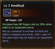 Amethyst lvl3