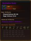 Equipment SkyshadowBoots Hunter