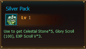 Items Silver Pack