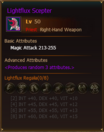 L50 PriestRH LightfluxScepter