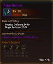 L30 HunterHead RebelHelmet