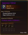 L30 KnightHead SuppressorHelmet