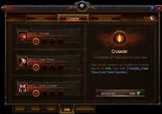 Crusader Skills