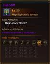 L50 MageRH HellStaff