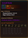 Equipment IronwillBoots Knight