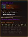 Equipment IronwillHelmet Knight