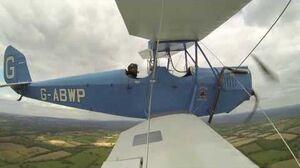 Spartan Arrow Test Flight G-ABWP (go-pro), Redhill Aerodrome 18May2013