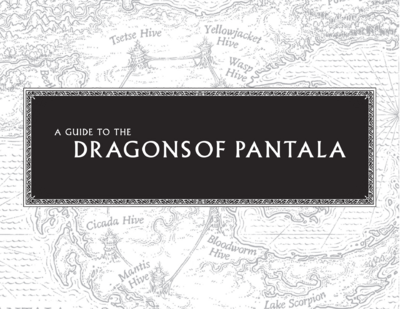A Guide to the Dragons of Pantala