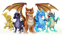 The dragonets of destiny by blaze tfd-dacclfz