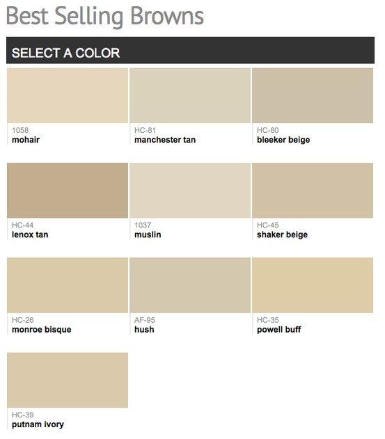 D54f421ea4a3bcade37e599e0bc52940 Shades Of Brown Paint Light Colors Jpg