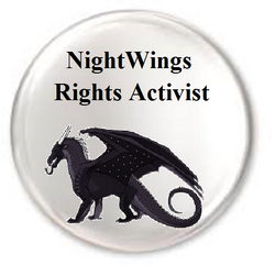 NightWings Rights Activist badge