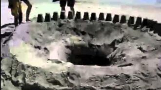 You will not belive how deep this hole is!!!