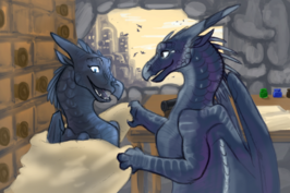 Darkstalker and clearsight the blanket by enement-dahs4c2
