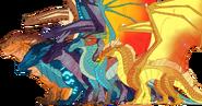Dragonets of destiny by velocirapioca-da2nki2